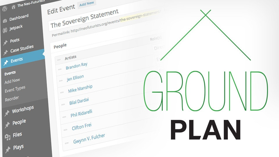 Groundplan Website Package